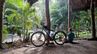 Camping at Ojos de Agua