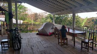 Camping at Finca de Magdalena